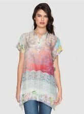 Tunic Dry-clean Only Floral Tops & Blouses for Women