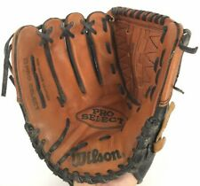 Wilson A2476 Pro Select Dual Hinge 12 .5 Inch Baseball Glove Left Hand Thrower