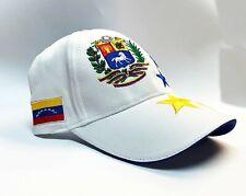 Venezuela cap hat 7 Stars flag sports World Cup Olympics Soccer baseball White