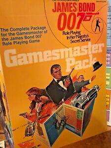 James Bond 007 GAMEMASTERS PACK role playing game incomplete