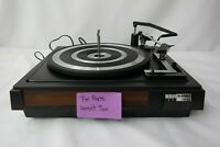 BSR McDonald 280 Turntable FOR PARTS NOT WORKING T5