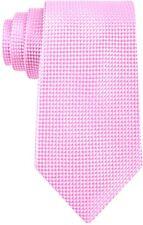 $185 MICHAEL KORS Men`s SLIM PINK BLUE CHECK SILK NECK TIE DRESS NECKTIE 60x3.25