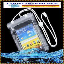 Funda impermeable Acuatica lluvia Smartphone Movil Sumergible medidas 14.5 x 9