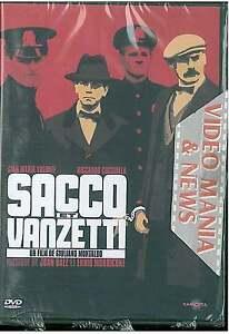SACCO E VANZETTI DVD Regia GIULIANO MONTALDO CON GIAN MARIA VOLONTE'