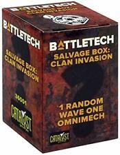 Catalyst Game Labs 36001 Battletch Salvage Box Clan Invasion (1)