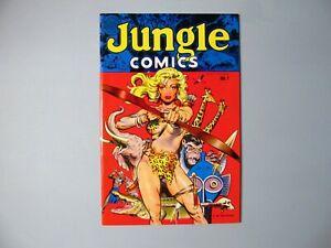 Jungle Comics 1 Blackthorne, Dave Stevens Cover