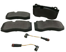 FOR MERCEDES S CLASS W221 FRONT BRAKE PADS AND SENSORS 2006 TO 2014 QUALITY UK