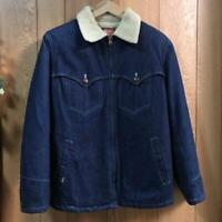 Sugar Cane Denim Jacket Ranch Boa Indigo Size S Used From Japan