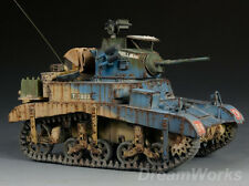 Award Winner Built Academy 1/35 M3A1 Stuart Light Tank +Interior +Accessories