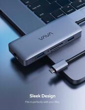 Vava Usb C Hub 8-in-1 Adapter 4K Hdmi Ethernet Port Usb 3.0 Va-Uc010