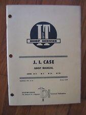 Case D S LA VA I&T tractor shop manual