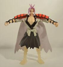 "2004 Amidamaru 7.25"" Mattel Anime Action Figure Naruto Shaman King Shonen Jump"