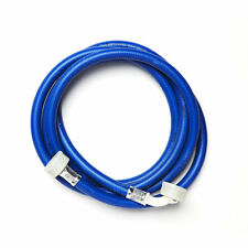 """2.5M Blue Washing Machine Dishwasher INLET PIPE HOSE Cold Water Feed 3/4"""" Thread"""