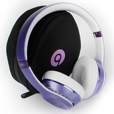 SOLO HD 2.0 DR DRE BEATS WIRELESS PURPLE ON EAR HEADPHONES REFURBISHED