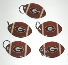 UGA Georgia Bulldogs Hyundai Football Keychain Lot of 5