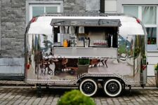 Airstream Mobile Catering Trailer Suitable for Burger, Coffee Gin Prosecco