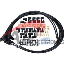 Dragon Fire 8.5mm 90 Universal Spark Plug Wire Set for V8 HEI Points EXTRA LONG