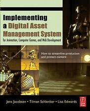 Implementing a Digital Asset Management System: For Animation,-ExLibrary