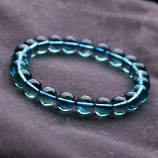 Natural Blue Fluorite Round Beads Stretch Bracelet 8mm*A001