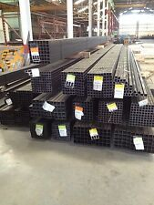 "STEEL SQUARE TUBING  1/2""x 1/2""x 16 GA  x  24 ft long hot rolled"