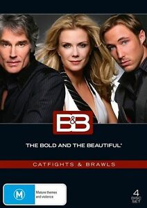 The Bold And The Beautiful DVD Catfights & Brawls New and Sealed Aus Region 4