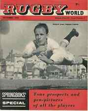 WALES v NEW ZEALAND 1935 ARTICLE IN RUGBY WORLD MAGAZINE NOVEMBER 1960 EDITION