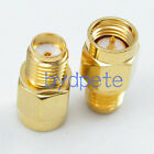 2pcs SMA female jack to SMA male plug straight RF Connector Adapter