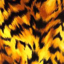 Fat Quarter Tiger Print Forever Wild Sewing Cotton Quilting Fabric
