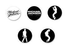 Lot Badge Button Ø25mm Music Musique Michael Jackson King of Pop MJ Bad