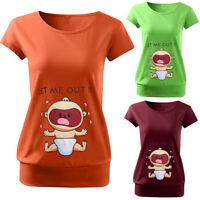 Women Maternity Summer Cute Cartoon Short Sleeve Tee Shirt Pregnancy Tops Blouse