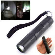 Powerful Q5 LED Flashlight Flash Torch light 18650 Protable Penlight waterproof