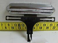 Rare OEM Chrome Bumperette License Plate Bracket 1941-42 1946-48 Ford Merc(Bin38