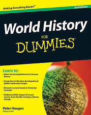 World History for Dummies, 2nd Edition by Peter Haugen (Paperback, 2009)
