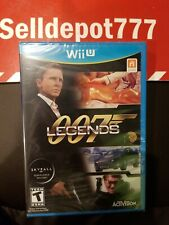 007 Legends (Nintendo Wii U, 2012) Brand New
