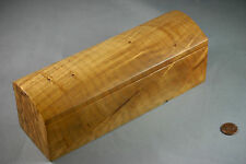 Signed Michael Elkan Studio Handcrafted Wood Jewelry / Pencil / Storage Box