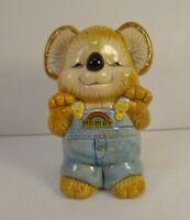 "OMC Japan Ceramic Koala Bank Shirt Tales Handpainted Gibson ""Howdy"" coveralls 5"""