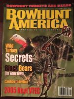 Bow Hunt America May 2005, Wild Turkey Secrets