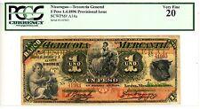 Nicaragua ... P-A14a ... 1 Peso ... 1896 ... *VF* ... PCGS 20
