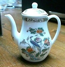"Wedgwood Kutani Crane Miniature Coffee Pot - <2 3/4""(<7cms)"