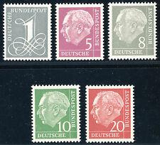BUND 1960, MiNr. 179-285 YI, Erstauflage, tadellos postfrisch, Mi. 90,-