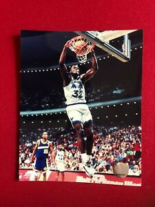 "Shaquille O'Neal (Magic), Licensed, Photo File  8"" x 10"" Color Photo (Vintage)"