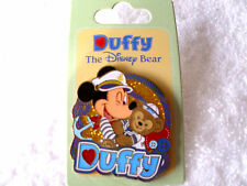 Disney * CAPTAIN MICKEY & DUFFY BEAR * New on Card Disney Cruise LineTrading Pin