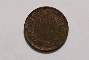 INDIA 1/4 ANNA 1903 EDWARD VII HIGH GRADE B35 #8374