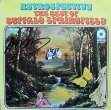 NEIL YOUNG Signed The Best Of Buffalo Springfield Vinyl Record Cover CSNY CSN