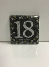 SPARKLING CELEBRATION 18th Birthday SMALL NAPKINS (16) ~ Party Supplies