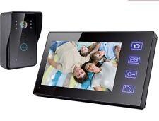 """7"""" vidéo sans fil sonnette main libre intercom ir porte téléphone caméra vision de nuit"""