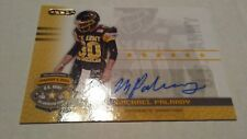 2010 MICHAEL PALARDY RAZOR/LEAF US ARMY ALL-AMERICAN AUTO TENNESSEE/PANTHERS