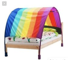 Ikea Childrens Kids Rainbow Bed Canopy