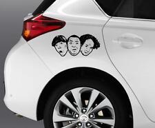 THE 3 STOOGES Car Window Bumper Decal Grpahics Art Novelty Sticker Truck Van B73