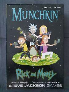 Munchkin Rick And Morty Kartenspiel